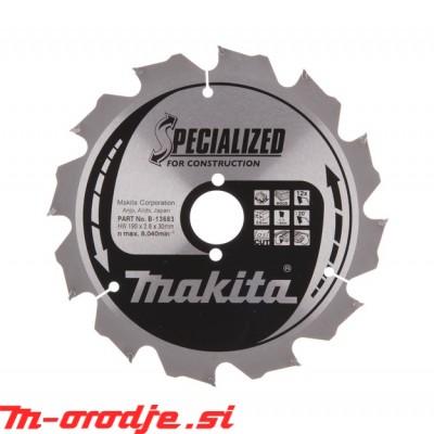 Makita TCT žagin list 190x30mm, 12z