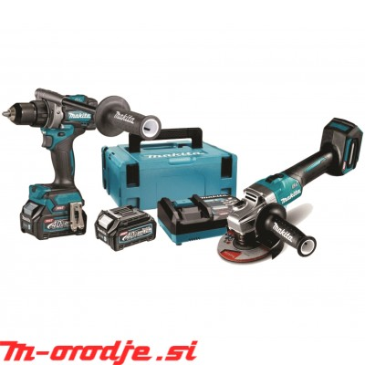 Makita DF001GD201 + GA005GZ akumulatorski set XGT, 40V, BL