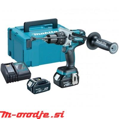 Makita DHP481RTJ akumulatorski vibracijski vijačnik, 18V, BL