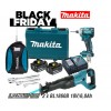 Makita DTD148RGE + DJR186Z akumulatorski set BLACK FRIDAY 2020