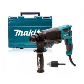 Makita HR2630X7 električno vrtalno kladivo SDS+, 800W