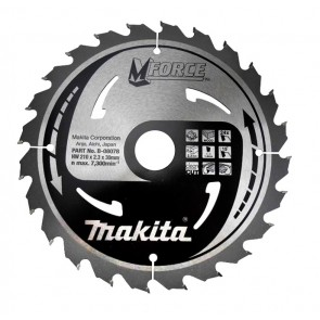 Makita žagin list TCT MForce 210x30mm, 24z