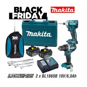 Makita DTD148RGE + DDF484 akumulatorski set BLACK FRIDAY 2020