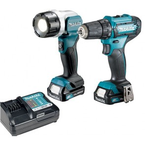 Makita DF333DWYL1 akumulatorski set 12V, CXT