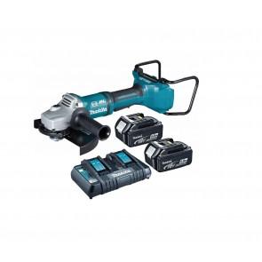 Makita DGA900PT2 akumulatorski kotni brusilnik 18V/5,0Ah, 230mm