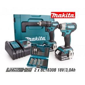 Makita DLX2221JX2 akumulatorski set, 18V, BL