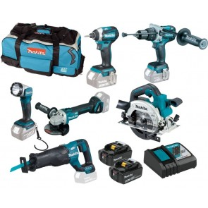 Makita DLX6088T akumulatorski set, BL, 18V
