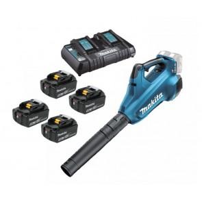 Makita DUB362PT4X akumulatorski puhalnik 18V+18V, 5,0Ah