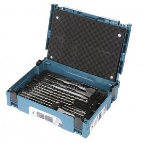 Makita 17-delni set svedrov in dlet SDS-Plus v kovčku Makpac 1 B-53877