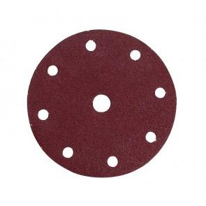 Makita brusni papir z ježkom 150mm K80 1/10 9 lukenj P-31930