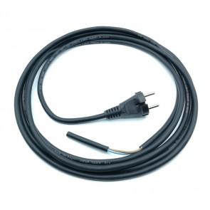 Priključna vrvica 2X1.0mm 4.1m H07RN-F